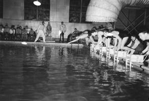 [Boys Swim Meet]