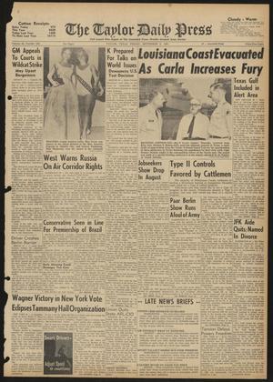 The Taylor Daily Press (Taylor, Tex.), Vol. 48, No. 226, Ed. 1 Friday, September 8, 1961