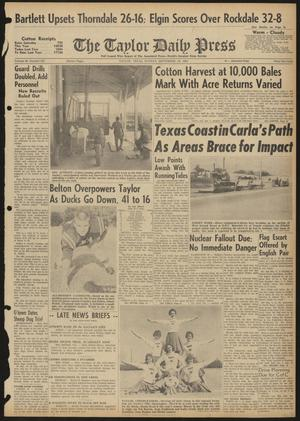 The Taylor Daily Press (Taylor, Tex.), Vol. 48, No. 227, Ed. 1 Sunday, September 10, 1961
