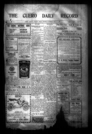 The Cuero Daily Record (Cuero, Tex.), Vol. 29, No. 116, Ed. 1 Monday, May 17, 1909