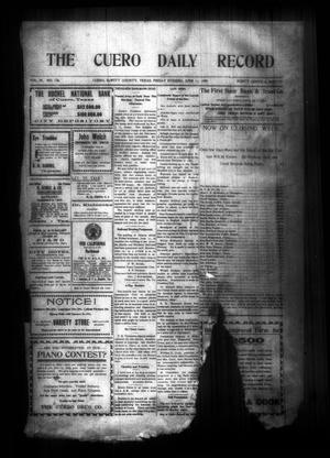 The Cuero Daily Record (Cuero, Tex.), Vol. 29, No. 138, Ed. 1 Friday, June 11, 1909