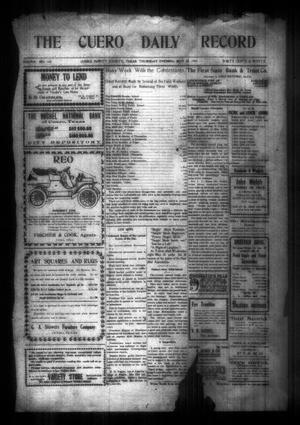 The Cuero Daily Record (Cuero, Tex.), Vol. 29, No. 119, Ed. 1 Thursday, May 20, 1909