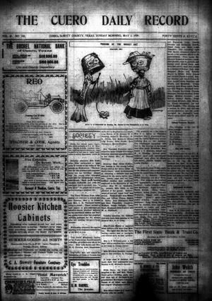 The Cuero Daily Record (Cuero, Tex.), Vol. 29, No. 103, Ed. 1 Sunday, May 2, 1909