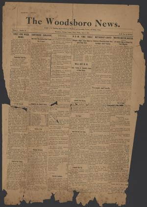 Primary view of object titled 'The Woodsboro News. (Woodsboro, Tex.), Vol. 1, No. 33, Ed. 1 Friday, June 5, 1914'.