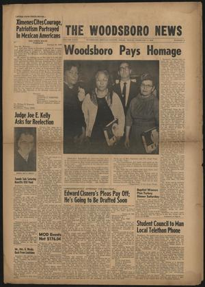 Primary view of object titled 'The Woodsboro News (Woodsboro, Tex.), Vol. 27, No. 3, Ed. 1 Friday, February 2, 1968'.