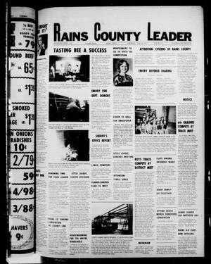 Primary view of object titled 'Rains County Leader (Emory, Tex.), Vol. 89, No. 47, Ed. 1 Thursday, April 28, 1977'.