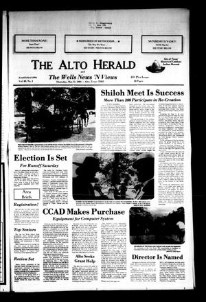 Primary view of object titled 'The Alto Herald and The Wells News 'N Views (Alto, Tex.), Vol. 89, No. 4, Ed. 1 Thursday, May 31, 1984'.