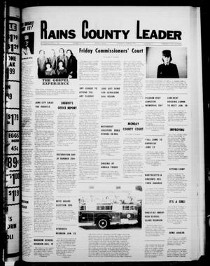 Primary view of object titled 'Rains County Leader (Emory, Tex.), Vol. 91, No. 3, Ed. 1 Thursday, June 22, 1978'.