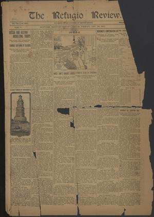Primary view of object titled 'The Refugio Review. (Refugio, Tex.), Vol. 5, No. [39], Ed. 1 Friday, November 29, 1912'.