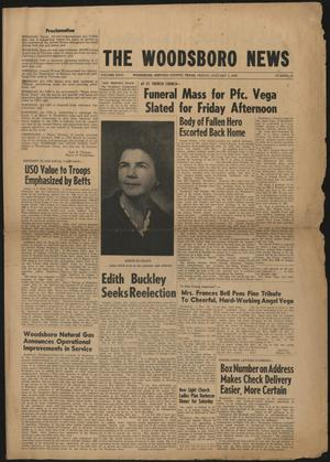 Primary view of object titled 'The Woodsboro News (Woodsboro, Tex.), Vol. 26, No. 51, Ed. 1 Friday, January 5, 1968'.