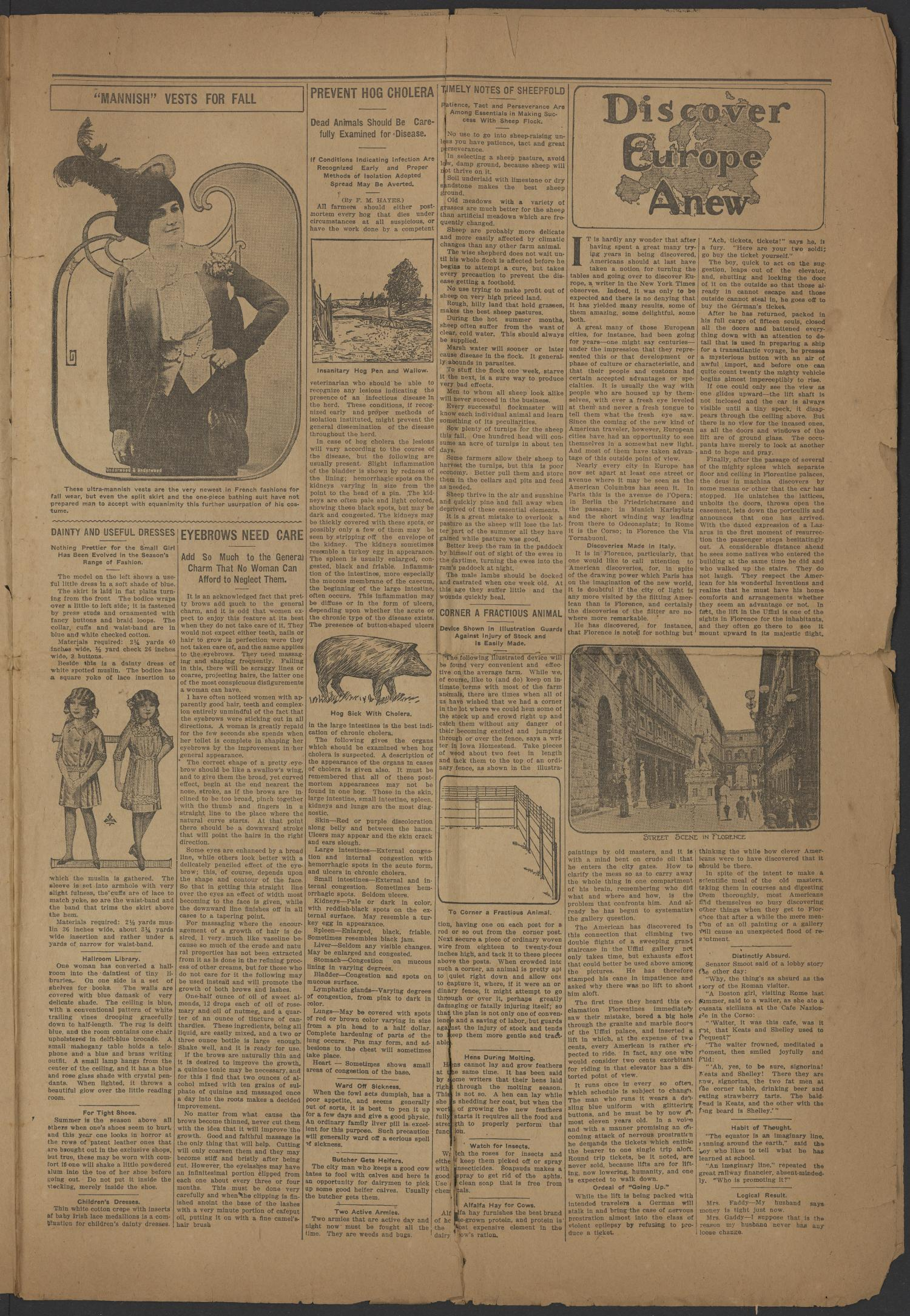 The Refugio Review. (Refugio, Tex.), Vol. 6, No. 25, Ed. 1 Friday, September 5, 1913                                                                                                      [Sequence #]: 3 of 8
