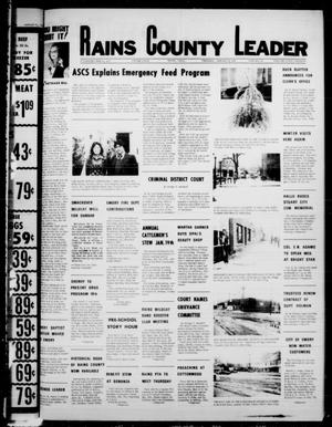 Primary view of object titled 'Rains County Leader (Emory, Tex.), Vol. 90, No. 33, Ed. 1 Thursday, January 19, 1978'.