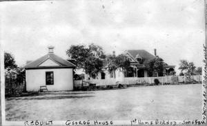 Primary view of object titled '[Photograph of George House]'.