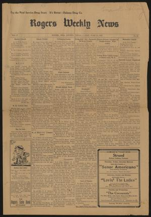 Rogers Weekly News (Rogers, Tex.), Vol. 37, No. 52, Ed. 1 Friday, June 13, 1930