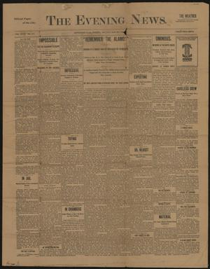 Primary view of object titled 'The Evening News. (Jeffersonville, Ind.), Vol. 26, No. 161, Ed. 1 Monday, May 23, 1898'.