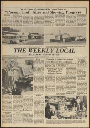 Primary view of object titled 'The Weekly Local (Ennis, Tex.), Vol. 50, No. 39, Ed. 1 Thursday, September 25, 1975'.