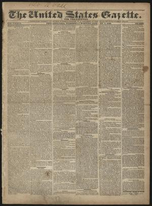 The United States Gazette. (Philadelphia, Pa.), Vol. 36, No. 6298, Ed. 1 Wednesday, January 6, 1836