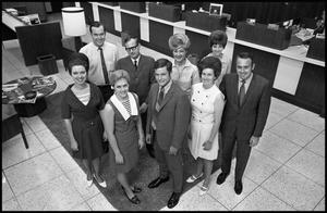 [Photograph of group of South National Bank employees]