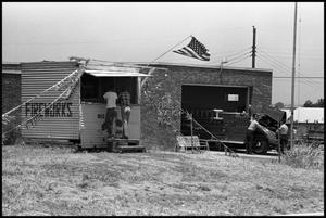 Firecracker stand & Fire Station