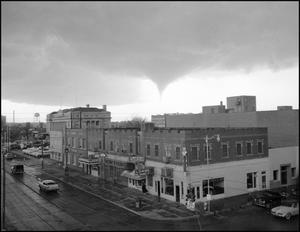 [Storm clouds over Wichita Falls, TX.]