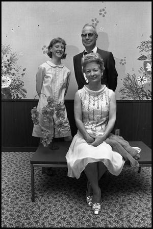 [Photograph of Colony Club- Gene Sherrod, Adam Seitz, Staley Hawkins]
