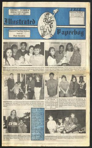 Primary view of Illustrated Paperboy (Cleveland, Tex.), Vol. 4, No. 40, Ed. 1 Wednesday, January 1, 1997
