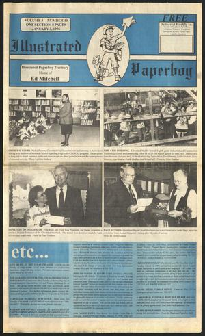 Primary view of Illustrated Paperboy (Cleveland, Tex.), Vol. 3, No. 40, Ed. 1 Wednesday, January 3, 1996