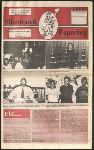 Primary view of Illustrated Paperboy (Cleveland, Tex.), Vol. 3, No. 49, Ed. 1 Wednesday, March 6, 1996
