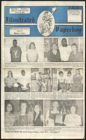Primary view of Illustrated Paperboy (Cleveland, Tex.), Vol. 4, No. 11, Ed. 1 Wednesday, June 12, 1996
