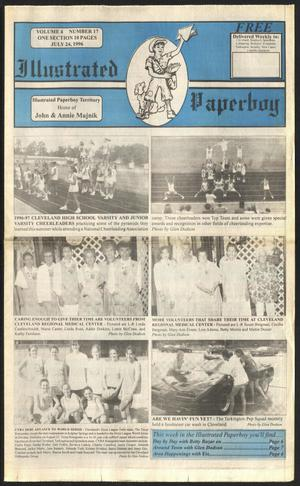Primary view of Illustrated Paperboy (Cleveland, Tex.), Vol. 4, No. 17, Ed. 1 Wednesday, July 24, 1996