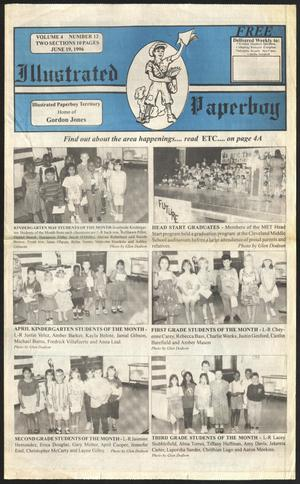Primary view of Illustrated Paperboy (Cleveland, Tex.), Vol. 4, No. 12, Ed. 1 Wednesday, June 19, 1996