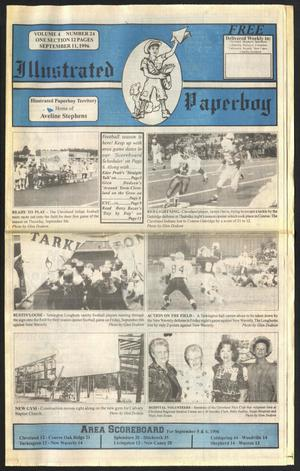 Primary view of Illustrated Paperboy (Cleveland, Tex.), Vol. 4, No. 24, Ed. 1 Wednesday, September 11, 1996