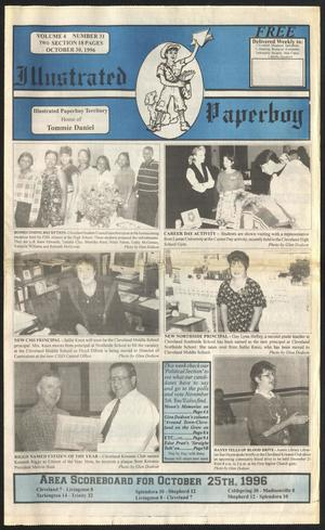 Primary view of Illustrated Paperboy (Cleveland, Tex.), Vol. 4, No. 31, Ed. 1 Wednesday, October 30, 1996