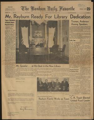 The Bonham Daily Favorite (Bonham, Tex.), Vol. 66, No. 44, Ed. 1 Tuesday, October 8, 1957