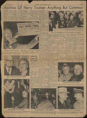 Primary view of object titled 'Sherman Democrat (Sherman, Tex.), Ed. 1 Tuesday, December 26, 1972'.