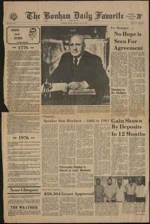 The Bonham Daily Favorite (Bonham, Tex.), Vol. 81, No. 140, Ed. 1 Sunday, July 4, 1976
