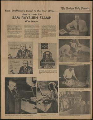 The Bonham Daily Favorite (Bonham, Tex.), Ed. 1 Sunday, September 16, 1962