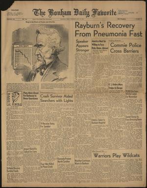 The Bonham Daily Favorite (Bonham, Tex.), Vol. 69, No. 45, Ed. 1 Thursday, October 12, 1961