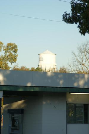 Primary view of object titled '[Paris, Texas Water Tower]'.