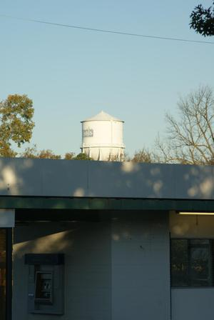 Primary view of object titled 'Paris Texas Water Tower'.