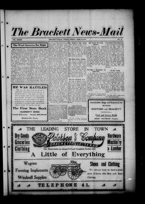 Primary view of object titled 'The Brackett News-Mail (Brackettville, Tex.), Vol. 33, No. 22, Ed. 1 Friday, June 20, 1913'.