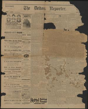 Primary view of object titled 'The Belton Reporter. (Belton, Tex.), Vol. 11, No. 23, Ed. 1 Wednesday, June 8, 1892'.