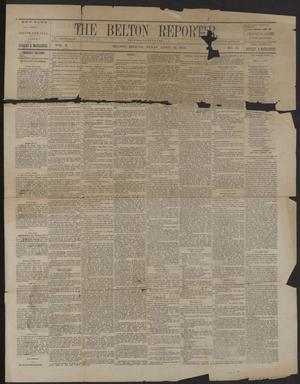 The Belton Reporter. (Belton, Tex.), Vol. 3, No. 15, Ed. 1 Tuesday, April 15, 1884