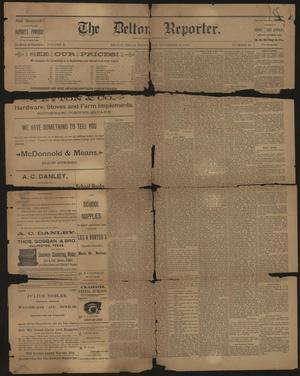 The Belton Reporter. (Belton, Tex.), Vol. 10, No. 48, Ed. 1 Wednesday, November 25, 1891