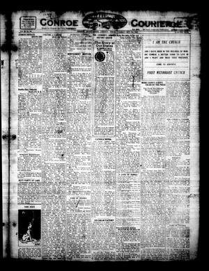 Primary view of object titled 'Conroe Courier (Conroe, Tex.), Vol. 29, No. 42, Ed. 1 Friday, October 21, 1921'.