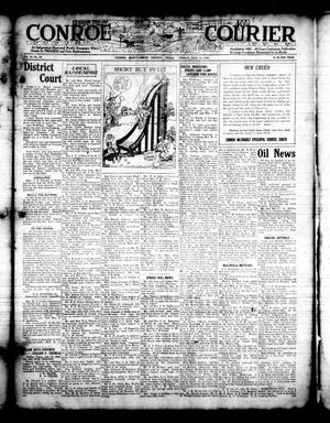 Primary view of object titled 'Conroe Courier (Conroe, Tex.), Vol. 30, No. 28, Ed. 1 Friday, July 14, 1922'.