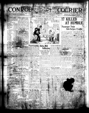 Conroe Courier (Conroe, Tex.), Vol. 30, No. 50, Ed. 1 Friday, December 15, 1922