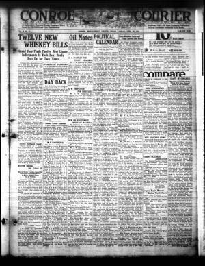 Conroe Courier (Conroe, Tex.), Vol. 30, No. 17, Ed. 1 Friday, April 28, 1922