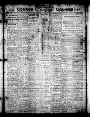 Primary view of object titled 'Conroe Courier (Conroe, Tex.), Vol. 30, No. 4, Ed. 1 Friday, January 27, 1922'.