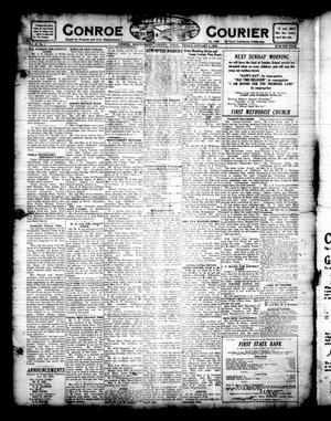 Primary view of object titled 'Conroe Courier (Conroe, Tex.), Vol. 30, No. 1, Ed. 1 Friday, January 6, 1922'.